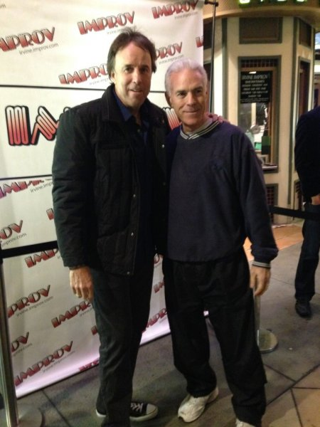 Bob Davies and Kevin Nealon