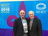MDRT with highly endorsed Bob Avery