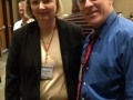 Bob Davies with Jeanette Vernia, United Planners Financial